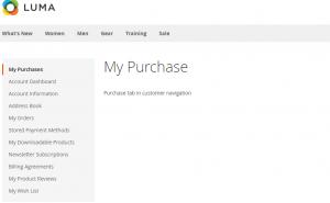 Custom My Account Link
