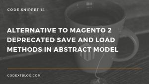 Alternative to Magento 2 Deprecated load method