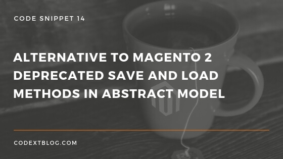 Alternative to Magento 2 Deprecated load method
